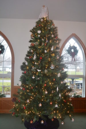 Prairie Chapel not only decorates their tree for Christmas, but for all the holidays and special events throughout the year. Beth Scott | Beacon