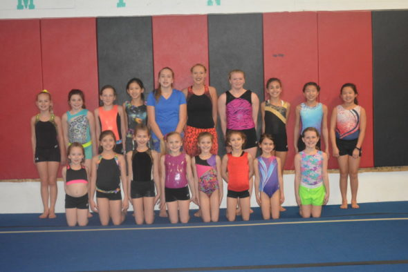 Twenty-four girls at Flip-N-Out Gymnastics have qualified to go to nationals in Tennessee in June this year to compete. This is the largest group to ever qualify.
