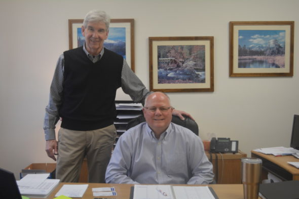 John A. Dunlop and Scott Boyer Insurance merged on Feb. 1 at Boyer Insurance's location at 225 Chestnut St., right beside the BP gas station. Dunlop is not retiring, just merging his business with another long-time Nationwide insurer.