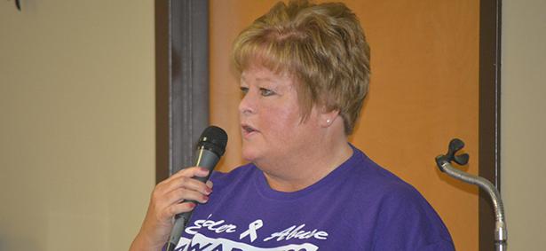 Senior Center hosts elder abuse awareness day