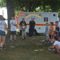 Kindergarteners learn safety tips at Safety City