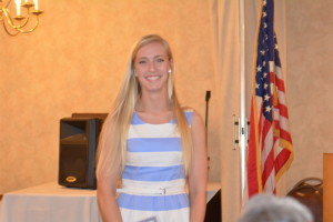 Jessie Gibson was named River View Student of the Year at the Elks awards banquet on Thursday, May 7.