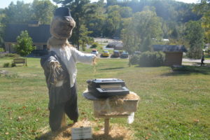 Scarecrow Clark by the Coshocton County Beacon took third place.