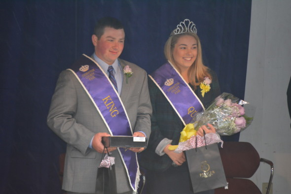 Collin McCoy and Jade Poorman were announced as the 2015 Fair King and Queen during opening ceremonies at the Coshocton County Fair on Saturday, Oct. 3.
