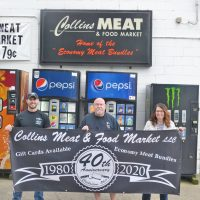 Collins' Meat Market celebrating 40 years