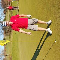 Crawford records hole in one