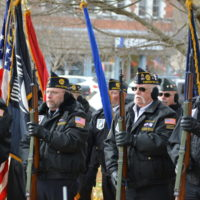 Veterans Day celebrated on court square