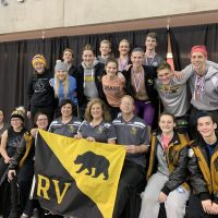 RV, Redskin swimmers perform well at district meet