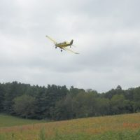 Cover crops will be flown over Coshocton County
