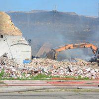 Blaze battled at former Ansell Edmont site