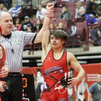 Redskins' Brink wins state at OHSAA wrestling tournament