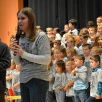 CES students receive gift from PTO