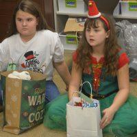 Third graders help nursing home residents