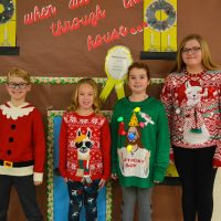 CES Ugly Sweater Contest