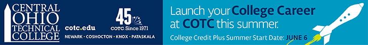 Central Ohio Technical College banner ad