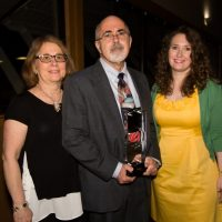 Hathaway receives Coshoctonian award at chamber dinner