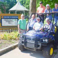 Rotary Club Gator will help beautify Coshocton