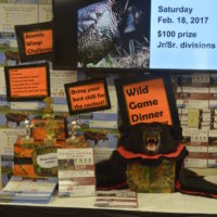 Wild game dinner offering lunch and dinner option this year