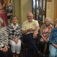 Senior center celebrates 90 year olds
