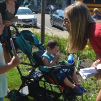 Coshocton Elementary School hands out popsicles to students