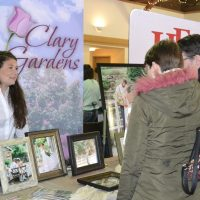 Almost 40 vendors attend bridal show