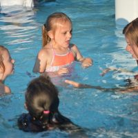 Volunteers are essential to swimming lessons