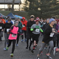 Nearly 200 participate in annual Turkey Trot
