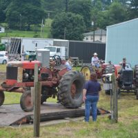Chicken barbecue and antique tractor pull coming up