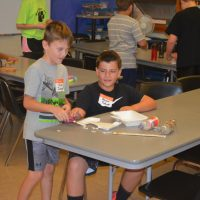 Students enjoy hands-on STEM activities