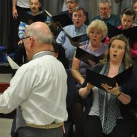 Community choir performs spring concert