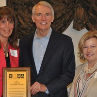 Roscoe Village recognized at EODA meeting