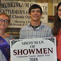 Mason wins Showman of Showmen contest