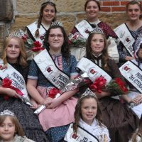 Canal royalty crowned during Apple Butter Stirrin'