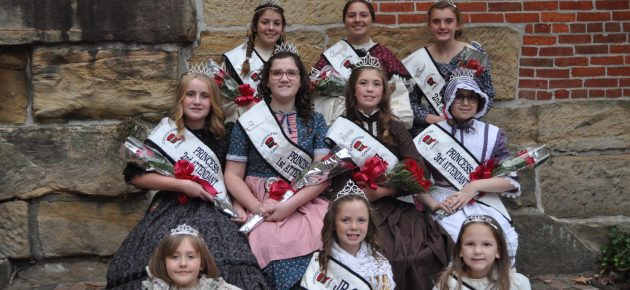 Canal Queen and Princess crowned during Apple Butter Stirrin'