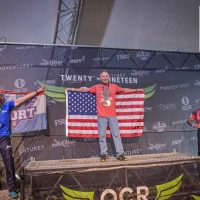 Cushman takes home gold in world championship race