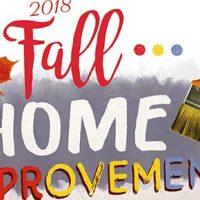 2018 Fall Home Improvement