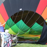 Balloon festival activity to honor veterans and first responders
