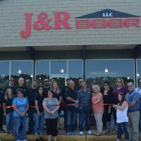 Ribbon cutting held at J&R Door's new location