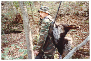 Jim West with turkey