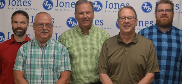 Dan Erb takes over Jones Metal Products Company