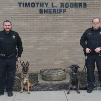 Sheriff's office K9s receiving protective vests from non-profit organization