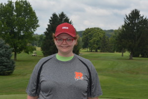 Kathryn Chittum rounds out the trio of seniors golfing for Ridgewood this fall.