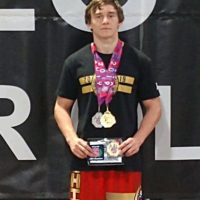 Brink adds national titles to his wrestling resume