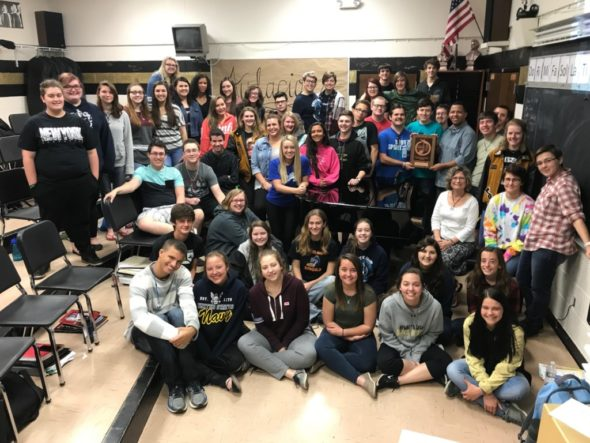 River View High School's Chamber Choir competed in the Ohio Music Education Association's State Level Competition at Massillon Jackson High School on April 21, and earned a superior rating. Contributed | Beacon