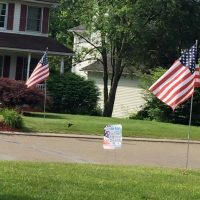 Clubs honor patriotic holidays with lease a flag projects