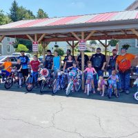 Motorcycle Club donates bikes