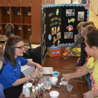 Second graders learn about careers