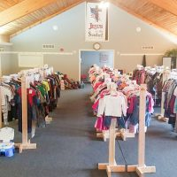 Children's resale celebrating first anniversary