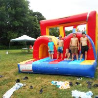 Kids enjoying summer camp at Chili Crossroads Bible Church