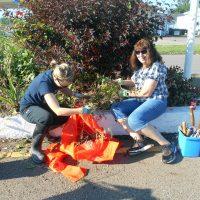 Volunteers help clean up Coshocton